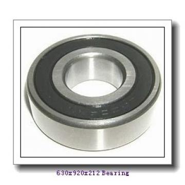 630 mm x 920 mm x 212 mm  ISO NJ30/630 cylindrical roller bearings