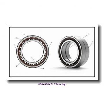 630 mm x 920 mm x 212 mm  Loyal 230/630 KCW33+AH30/630 spherical roller bearings