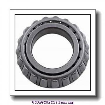 630 mm x 920 mm x 212 mm  ISO NU30/630 cylindrical roller bearings