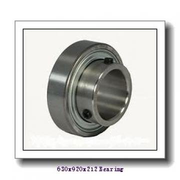 630 mm x 920 mm x 212 mm  NACHI 230/630E cylindrical roller bearings