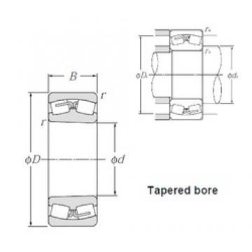 190 mm x 400 mm x 132 mm  NTN 22338BK spherical roller bearings