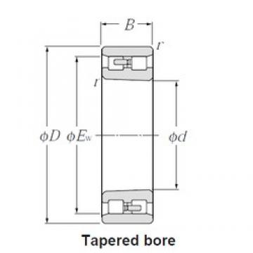 180 mm x 280 mm x 74 mm  CYSD NN3036K/W33 cylindrical roller bearings