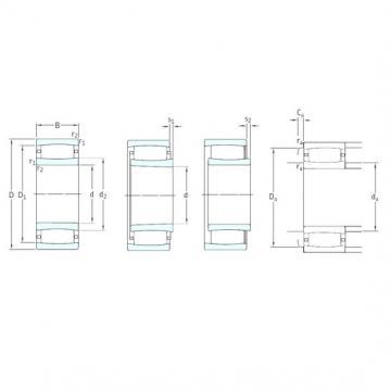 170 mm x 260 mm x 90 mm  SKF C4034V cylindrical roller bearings