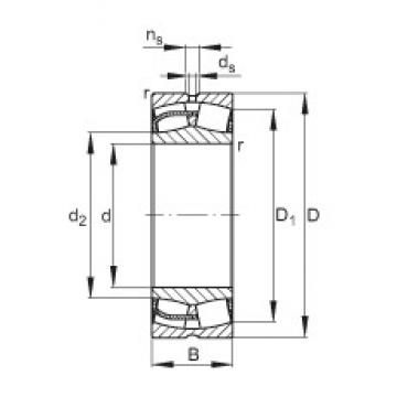 200 mm x 420 mm x 138 mm  FAG 22340-E1 spherical roller bearings