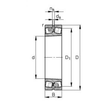 630 mm x 920 mm x 212 mm  FAG 230/630-B-K-MB spherical roller bearings