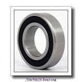 50,000 mm x 90,000 mm x 20,000 mm  NTN-SNR 6210 deep groove ball bearings