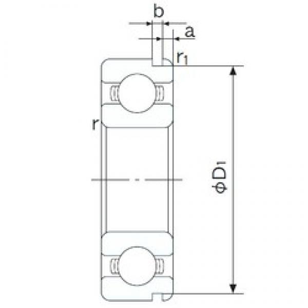 65 mm x 85 mm x 10 mm  NACHI 6813N deep groove ball bearings #2 image