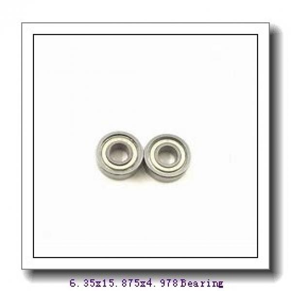 6,35 mm x 15,875 mm x 4,978 mm  SKF D/W R4-2Z deep groove ball bearings #1 image