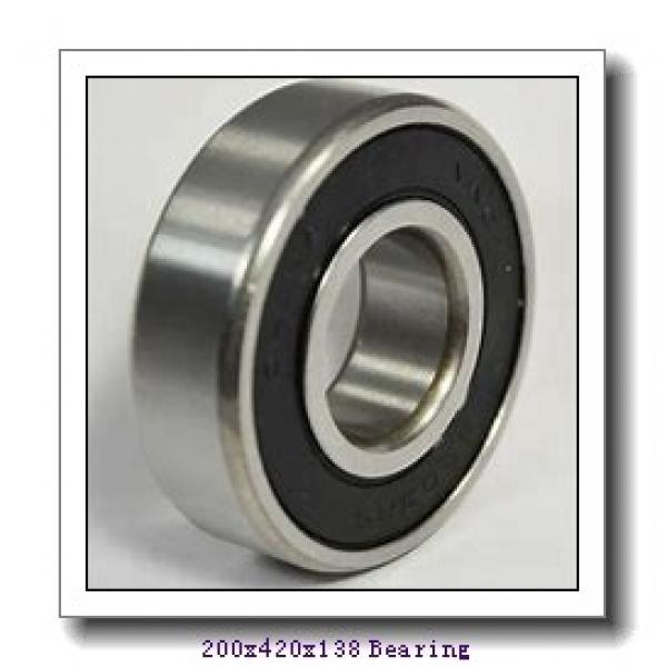200 mm x 420 mm x 138 mm  NKE NJ2340-E-M6 cylindrical roller bearings #1 image
